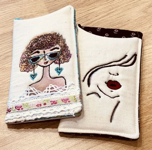 Free Machine Embroided Glasses/Phone Case    Tuesday 3rd September 10am - 1pm